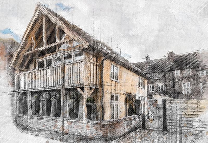 Little Lodge Sketch